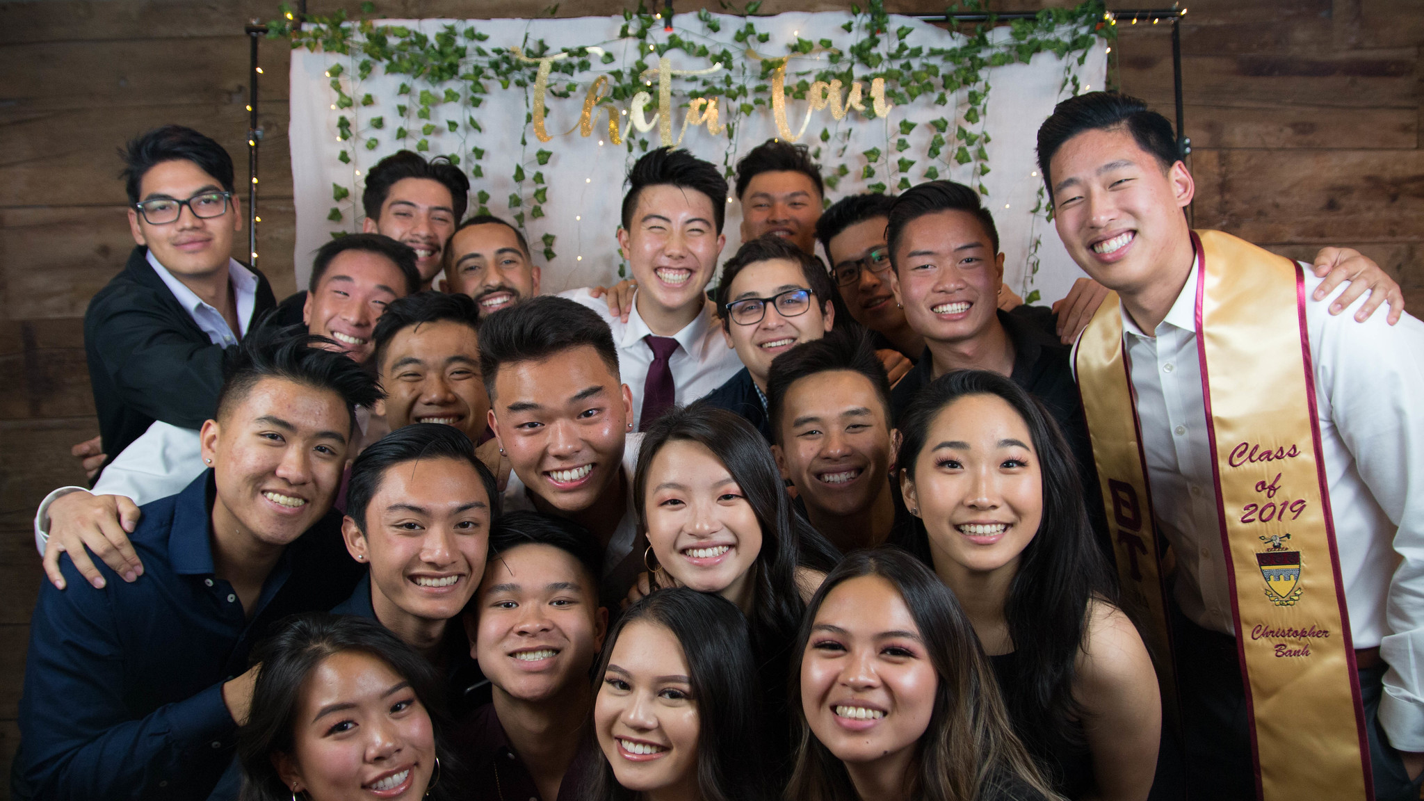 picture of pi class at banquet 2019