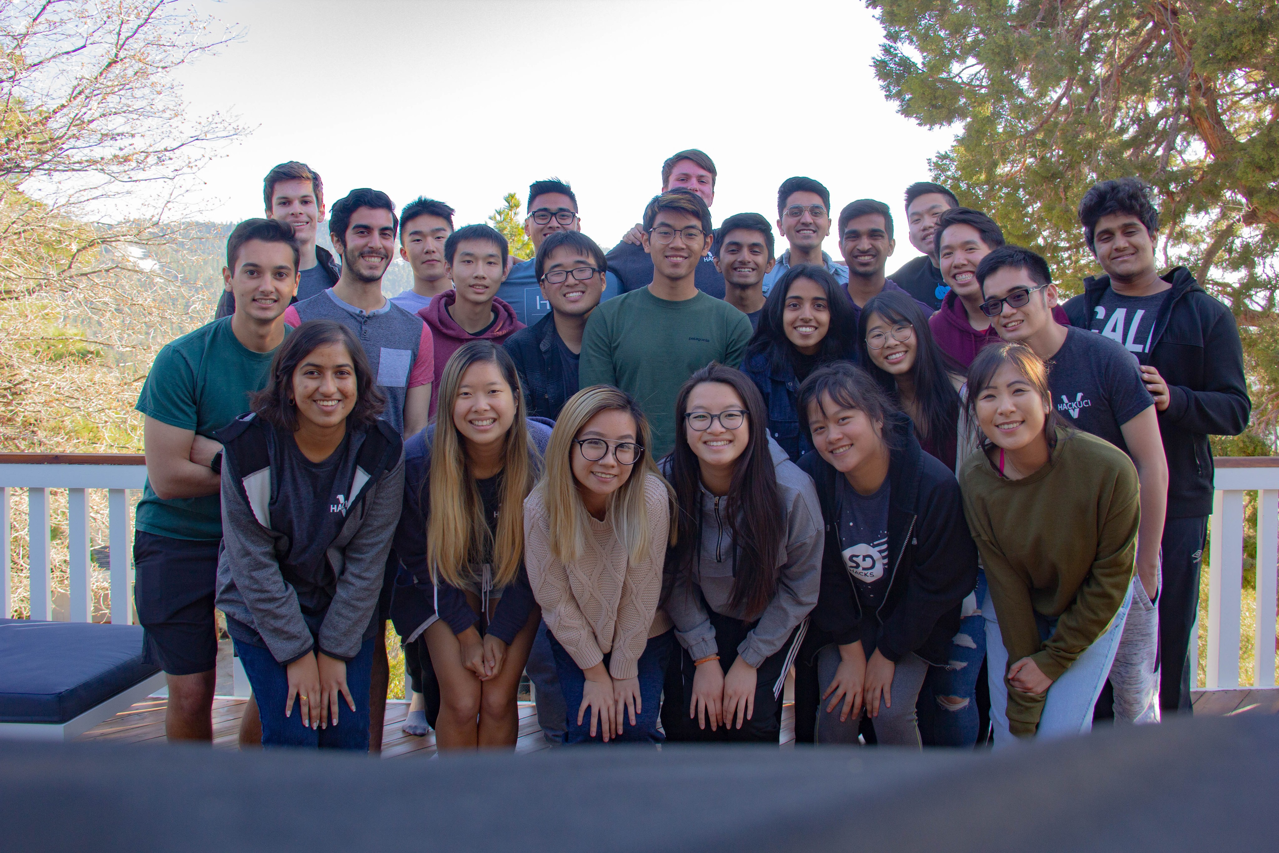 group pic of hack at retreat 2019