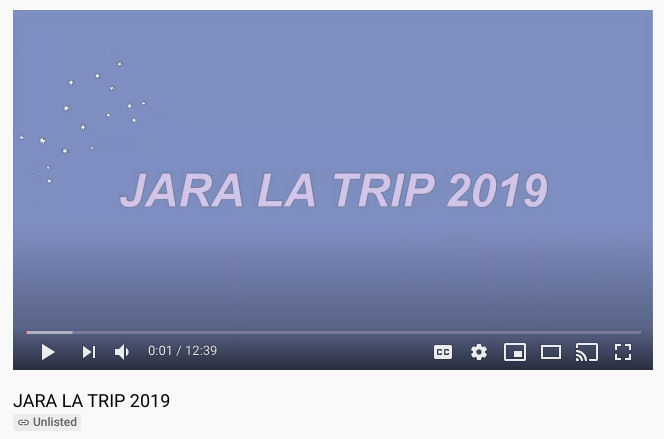 pic of la trip video on youtube
